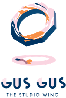 Gus Gus The Studio Wing Logo
